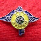 KEY SYSTEMS WINGS LOGO ADVERTISING TRAIN RAILROAD PIN