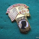 MARYLAND BRING THEM HOME POW MIA STATE FLAG LAPEL PIN