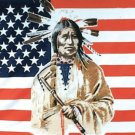 PROUD AMERICAN INDIAN USA FLYING LARGE BIG FLAG NEW