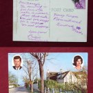 President JFK Summer Home Irving Ave Cape Cod Photo View Old VINTAGE POSTCARD PC