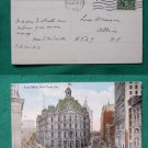 POST OFFICE NYC OLD CITY 1913 VIEW VINTAGE POSTCARD