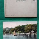 CLEVELAND OHIO WADE PARK LAKE VIEW OLD VINTAGE POSTCARD
