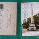 CONFEDERATE MONUMENT VA 1906 STAMP VINTAGE POSTCARD
