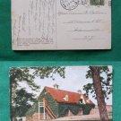 WASHINGTONS BARN MT VERNON 1910 STAMP VINTAGE POSTCARD