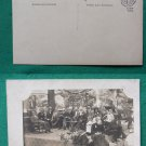 JULY 4TH PARTY ? OLD RPPC REAL PHOTO VINTAGE POSTCARD