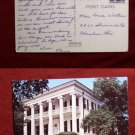 Governors Mansion Austin TX TEXAS 1971 STAMP OLD PHOTO PC VINTAGE POSTCARD