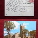 Williams College University Chapel Building 1955 View Old VINTAGE POSTCARD PC
