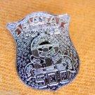 "ATLANTA POLICE SILVER 500 PROUD MINI POLICE BADGE SHIELD SHIRT LAPEL PIN NEW 1"""