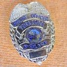 MINI GOLD EAGLE TORRANCE CA POLICE COPS PROUD SUIT LAPEL BADGE SHIELD PIN BAGE
