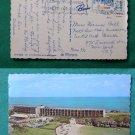 BERMUDA CARLTON BEACH HOTEL 1969 VTG VINTAGE POSTCARD