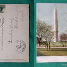 TUCK & SONS VINTAGE POSTCARD 1906 WASHINGTON MONUMENT