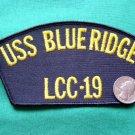 "USS BLUERIDGE US NAVY SHIP LCC-19 5.5"" MILITARY PATCH"