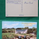 AMISH HOMESTEAD FARM VIEW LANCASTER PA VINTAGE POSTCARD