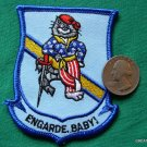 USN NAVY SWORDSMEN VF-32 ENGARDE BABY TOMCAT HAT PATCH
