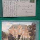 1910 FITCHBURG COURT HOUSE OLD STAMP VINTAGE POSTCARD
