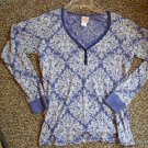 JR  GIRLS CURIOUS GYPSY HIPPIE LOOK PURPLE SHIRT SZ S