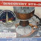 DISCOVERY SHUTTLE STS-26~NASA PATCH EMBLEM PANEL