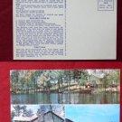 East Wakefield NH Belleau Lake Resort Lodge Photo View Old VINTAGE POSTCARD PC