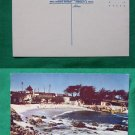 PACIFIC GROVE BEACH VIEW OLD CA VINTAGE POSTCARD