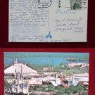 Air View Space Mountain Cinderella Castle Walt Disney World Old VINTAGE POSTCARD