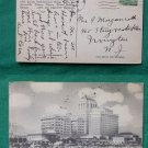 ATLANTIC CITY NJ CHALFONTE HADDON HALL VINTAGE POSTCARD
