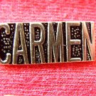 CARMEN LOGO RR RAILROAD TRAIN PERSONAL SHIRT LAPEL PIN