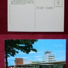 Milwaukee General Mitchell Field Airport Photo Taxi View Old VINTAGE POSTCARD PC