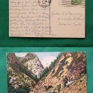 OLD 1951 STAMP CALIFORNIA ZEPHYR TRAIN VINTAGE POSTCARD