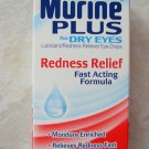 EYE DROPS MURINE PLUS GETS THE RED OUT REDNESS RELIEF