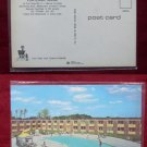 Portland ME Holiday Inn West Swimming Pool Photo View Old VINTAGE POSTCARD PC