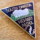 SOUTH DAKOTA SD STATE POLICE HIGHWAY PATROL TROOPER MINI PATCH BADGE LAPEL PIN