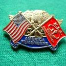 AMERICA REMEMBERS KILLED IN ACTION FLAG KIA LAPEL PIN