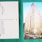 HOTEL NEW YORKER NYC OLD CAR VIEW VINTAGE POSTCARD