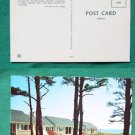 BEACH FRONT COTTAGE APTS CAPE COD MA VINTAGE POSTCARD