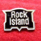 ROCK ISLAND LOGO EMBLEM R.R. COLLECTABLE RAILROAD PIN