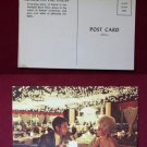 Doral on the Ocean Restaurant Big Hair Girl Drinking Old VINTAGE Photo POSTCARD