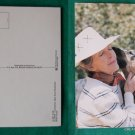 NANCY REAGAN WITH HER DOG FREEBO OLD VINTAGE POSTCARD