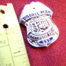 Providence RI PD Rhode Island Mini Silver Police Shield Badge Cops Lapel Pin NEW