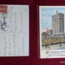 St Charles Hotel 1925 Stamp Old Atlantic City NJ New Jeresy VINTAGE POSTCARD PC