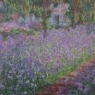 Claude Monet The Artist's Garden at Giverny Poster 20X30 Art Print