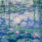 Claude Monet Water Lilies Poster 20X30 Art Print