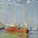 Claude Monet Argenteuil Poster 20X30 Art Print