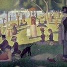 Sunday Afternoon Island La Grande Jatte Georges Seurat Poster 20X30 Art Print