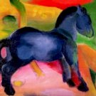 Little Blue Horse Franz Marc Poster 20X30 Art Print