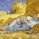 Noon Rest from Work after Millet Vincent van Gogh Poster 20X30 Art Print