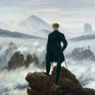 Wanderer Above the Sea of Fog Caspar David Friedrich Poster 20X30 Art Print