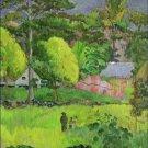 Paysage Landscape Paul Gauguin Poster 20X30 Art Print