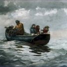 Crab Fishing Winslow Homer Poster 20X30 Art Print