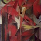 The Fox Franz Marc Poster 20X30 Art Print