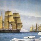 HMS Alert Discovery Arctic 1865 William Mitchell Poster 20X30 Art Print